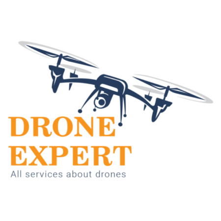 Drone Experts LOGO-sxetika me emas
